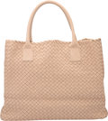 "Luxury Accessories:Accessories, Bottega Veneta Beige Intrecciato Nappa Leather Cabat Tote Bag. Condition: 2. 16"" Width x 12"" Height x 6"" Depth. ..."