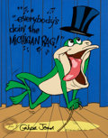 "Animation Art:Limited Edition Cel, Michigan J. Frog ""Michigan Rag"" Limited Edition Cel #171/200(Warner Brothers/Chuck Jones, 1987)...."