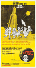 """Movie Posters:Comedy, The Mouse on the Moon (United Artists, 1963). Folded, Very Fine+.International Three Sheet (41"""" X 79""""). Comedy.. ...."""