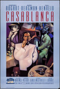 "Movie Posters:Academy Award Winners, Casablanca (Turner Entertainment, R-1992). 50th Anniversary OneSheet (27"" X 40""). Academy Award Winners.. ..."