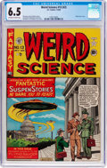 Golden Age (1938-1955):Science Fiction, Weird Science #13 (#2) (EC, 1950) CGC FN+ 6.5 Off-white to whitepages....