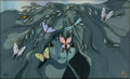 "Animation Art:Limited Edition Cel, Fantasia 2000 ""Sprite of Spring"" Limited Edition Cel#119/150 (Walt Disney, 2000)...."