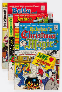 Archie Giant Series Magazine Box Lot (Archie, 1967-90) Condition: Average FN