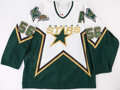 Hockey Collectibles:Uniforms, 2006-07 Sergei Zubov Game Worn Dallas Stars Stanley Cup Playoffs Jersey.. ...