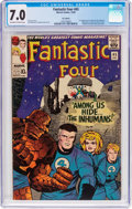 Silver Age (1956-1969):Superhero, Fantastic Four #45 UK Edition (Marvel, 1965) CGC FN/VF 7.0 Off-white to white pages....
