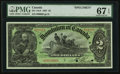 Canadian Currency, DC-14cS $2 1897 Specimen.. ...