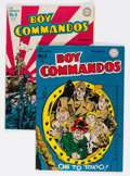 Golden Age (1938-1955):Superhero, Boy Commandos #8 and 9 Group (DC, 1944) Condition: Average FN-.... (Total: 2 Comic Books)