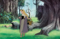 Animation Art:Production Cel, Sleeping Beauty Briar Rose Production Cel (Walt Disney, 1959)....
