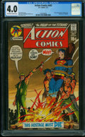 Bronze Age (1970-1979):Superhero, Action Comics #402 (DC, 1971) CGC VG 4.0 OFF-WHITE TO WHITE pages.