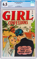 Golden Age (1938-1955):Romance, Girl Confessions #13 (Atlas, 1952) CGC FN+ 6.5 Off-white pages....
