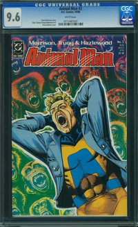 Animal Man #2 (DC, 1988) CGC NM+ 9.6 WHITE pages