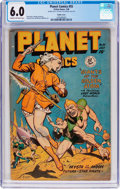 Golden Age (1938-1955):Science Fiction, Planet Comics #55 (Fiction House, 1948) CGC FN 6.0 Off-whitepages....