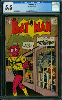 Batman #128 (DC, 1959) CGC FN- 5.5 CREAM TO OFF-WHITE pages