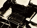 Photographs, Beaumont Newhall (American, 1908-1993). Charis Weston's Typewriter, 1946. Gelatin silver. 10 x 13-1/8 inches (25.4 x 33....