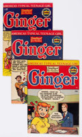 Golden Age (1938-1955):Humor, Ginger Group of 5 (Archie, 1951-54) Condition: Average FN/VF.... (Total: 5 Comic Books)