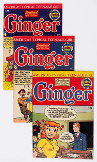Ginger Group of 5 (Archie, 1951-54) Condition: Average FN/VF.... (Total: 5 Comic Books)