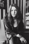 Photographs, Jim Marshall (American, 1936-2010). Janis in Noe St. Apartment, 1968. Gelatin silver, 1980. 9-1/4 x 6-1/4 inches (23.5 x...
