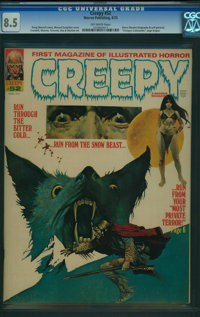 Creepy #52 (Warren, 1973) CGC VF+ 8.5