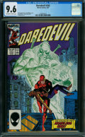 Modern Age (1980-Present):Superhero, Daredevil #243 (Marvel, 1987) CGC NM+ 9.6 OFF-WHITE TO WHITE pages.