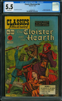 Classics Illustrated 66 First Edition - ORIGINAL EDITION (Gilberton, 1949) CGC FN- 5.5 Off-white pages