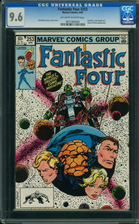 Fantastic Four #253 (Marvel, 1983) CGC NM+ 9.6 OFF-WHITE TO WHITE pages