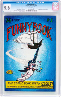 Funnybook #1 (Almighty Publishing, 1971) CGC NM+ 9.6 Off-white pages