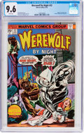 Bronze Age (1970-1979):Horror, Werewolf by Night #32 (Marvel, 1975) CGC NM+ 9.6 White pages....