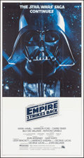 "Movie Posters:Science Fiction, The Empire Strikes Back (20th Century Fox, 1980). InternationalThree Sheet (41"" X 77""). Science Fiction.. ..."
