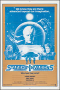 "Movie Posters:Science Fiction, Starship Invasions & Other Lot (Warner Bros., 1977). Folded, Overall: Very Fine-. One Sheets (2) (27"" X 41""). Science Fictio... (Total: 2 Items)"