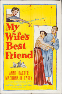 """My Wife's Best Friend & Others Lot (20th Century Fox, 1952). One Sheets (3) (27"""" X 41""""). Comedy. ... (..."""