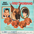 "Movie Posters:Comedy, The Ugly Dachshund (Buena Vista, 1965). Six Sheet (83.5"" X 84""). Comedy.. ..."