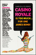 "Movie Posters:James Bond, Casino Royale (Columbia, 1967). One Sheet (27"" X 41"") Robert McGinnis Artwork. James Bond.. ..."