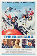 "Movie Posters:War, The Blue Max (20th Century Fox, 1966). One Sheet (27"" X 41"") FrankMcCarthy Artwork. War.. ..."