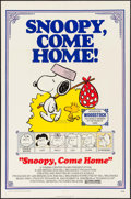 "Movie Posters:Animation, Snoopy, Come Home! (National General, 1972). One Sheet (27"" X 41"") Charles Schultz Artwork. Animation.. ..."