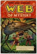 "Golden Age (1938-1955):Horror, Web of Mystery #21 Davis Crippen (""D"" Copy) pedigree (Ace, 1953)Condition: VF-...."