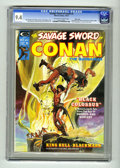 Magazines:Superhero, Savage Sword of Conan #2 Massachusetts pedigree (Marvel, 1974) CGCNM 9.4 Off-white to white pages. ...