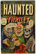 "Golden Age (1938-1955):Horror, Haunted Thrills #11 Davis Crippen (""D"" Copy) pedigree (Farrell,1953) Condition: VF-...."