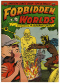 "Golden Age (1938-1955):Horror, Forbidden Worlds #8 Davis Crippen (""D"" Copy) pedigree (ACG, 1952)Condition: FN+...."