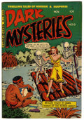 "Golden Age (1938-1955):Horror, Dark Mysteries #9 Davis Crippen (""D"" Copy) pedigree (MasterPublications, 1952) Condition: FN...."