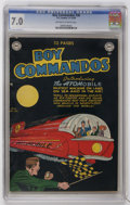 Golden Age (1938-1955):Science Fiction, Boy Commandos #36 (DC, ) CGC FN/VF 7.0 Off-white to white pages....