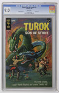 Silver Age (1956-1969):Adventure, Turok, Son of Stone #62 (Gold Key, 1968) CGC VF/NM 9.0 White pages....
