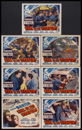 """Movie Posters:War, Hell in the Heavens (Fox Film Corporation, 1934). Title Lobby Card(11"""" X 14"""") and Lobby Cards (6) (11"""" X 14""""). War. Starrin...(Total: 7 Items)"""