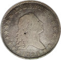 Early Half Dollars: , 1794 50C Fine 12 PCGS. O-102, High R.6. The majority of surviving1794 half dollars are from the O-101 die marriage. Overto...