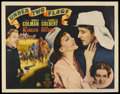 """Movie Posters:Adventure, Under Two Flags (20th Century Fox, 1936). Half Sheet (22"""" X 28"""").Adventure. Starring Ronald Colman, Claudette Colbert, Vict..."""