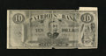 Miscellaneous:Other, Patriot's Bank Advertising Note 10 Patriotic Impulses State of War(1899). The face of this advertising note that dates back...