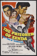 "Movie Posters:Adventure, The Prisoner of Zenda (MGM, 1952). One Sheet (27"" X 41"").Adventure. Starring Stewart Granger, Deborah Kerr, Louis Calhern,..."