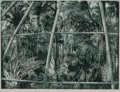 Prints & Multiples, Anna Held Audette (American, 1938-2013). Under Glass, 1979. Etching and aquatint in colors on paper. 29-1/2 x 39-1/4 inc...