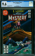 Modern Age (1980-Present):Horror, House of Mystery #307 (DC, 1982) CGC NM+ 9.6 OFF-WHITE TO WHITE pages.