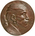 20th Century Tokens and Medals, (1904) Bronze Galvano, Edward Warren Sawyer, AT-ZI-DI, UncertainTribe, Medallic Art Company. ...