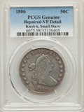 Early Half Dollars, 1806 50C -- Repaired -- PCGS Genuine. VF Details. PCGS Population:(18/116). CDN: $600 Whsle. Bid for p...